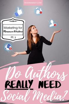 Do authors need social media? Only if they want to market their books to the largest and most active groups of readers on the Internet! Of course, the real answer is a bit more nuanced than that, but we'll discuss social media marketing for authors in-depth in this blog post. #selfpublishing #authormarketing #marketingforauthors #howtomarketyourbook