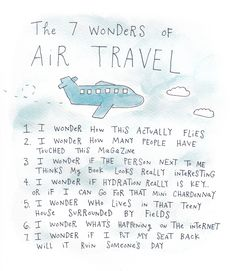 Thoughts on an Airplane
