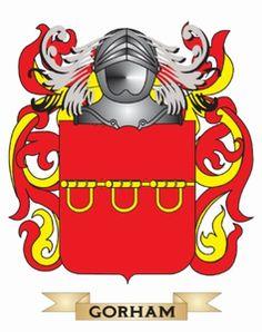 Gorham family crest