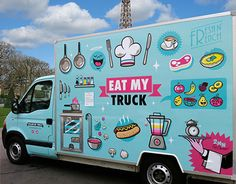 "Check out this @Behance project: ""EAT MY TRUCK"" https://www.behance.net/gallery/17742545/EAT-MY-TRUCK"