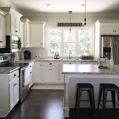 Home Renovation Kitchen Today calls for lots of coffee. ☕️ Enjoy your Sunday friends! Kitchen On A Budget, Kitchen Redo, New Kitchen, Kitchen Ideas, Kitchen Designs, Country Kitchen, Kitchen Themes, Cheap Kitchen, Budget Bathroom