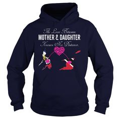 (Tshirt Design) THE LOVE BETWEEN MOTHER AND DAUGHTER Philippines Trinidad and Tobago at Tshirt Family Hoodies, Funny Tee Shirts