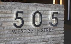 Fabricated & Cut Letters Exterior Signage