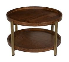Shop round coffee table from Pottery Barn. Our furniture, home decor and accessories collections feature round coffee table in quality materials and classic styles. Coffee Table Pottery Barn, Round Wood Coffee Table, Coffee Tables For Sale, Reclaimed Wood Coffee Table, Shadow Box Coffee Table, Coffee Table With Storage, Wood Shelves, Wood And Metal, Solid Wood