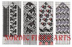 Chrysanthemum Mittens – a free knitting pattern for Crochet Mittens Free Pattern, Knit Mittens, Knitted Gloves, Knitting Socks, Knit Or Crochet, Hand Knitting, Knitting Charts, Knitting Stitches, Knitting Patterns