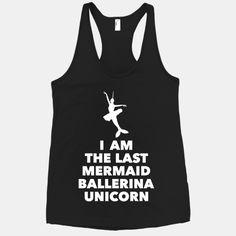 Mermaid Ballerina Unicorn @Alison Hill