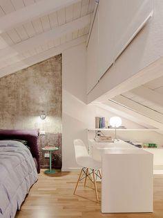 Zolder verbouwen tot slaapkamer en werkplek