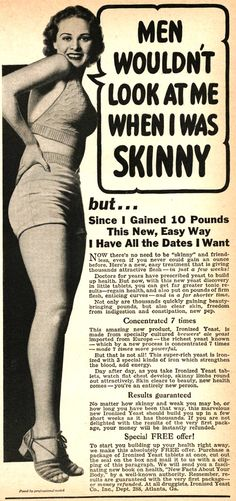 Old Ad.... wish they were like that today...