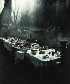 The Mad Hatter's tea party | Alice in Wonderland | Dark Fantasy | Fairy Tale | Storybook