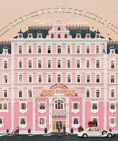 Go behind the scenes of The Grand Budapest Hotel