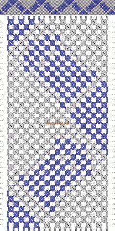 Tardis bracelet/cross stitch pattern