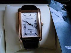 Frederique Constant men's watch model FC303MC4C24... #Breitling Watch Model, Square Watch, Breitling, Watches For Men, Shopping, Ebay, Men's Watches, Men Watches