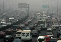 Traffic pollution in life