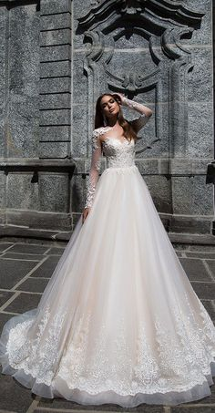 Milla Nova Bridal 2017 Wedding Dresses roberta / http://www.deerpearlflowers.com/milla-nova-2017-wedding-dresses/21/