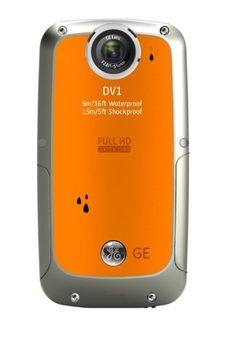 """GE DV1 - Cámara compacta de 5 Mp (pantalla de 2.5"""", zoom óptico 4x, resistente al agua) color naranja B0044DEEJW - http://www.comprartabletas.es/ge-dv1-camara-compacta-de-5-mp-pantalla-de-2-5-zoom-optico-4x-resistente-al-agua-color-naranja-b0044deejw.html"""