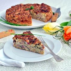 Easter Stuffing - a traditional Czech Easter meal (recipe in Czech). I'll have to try to translate. This looks so good!
