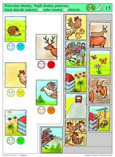 Vhodné pro děti od 5 let Soubor obsahuje 16 různých karet, vždy s 10 úkoly. Karta se zasune do rámečku a barevné knoflíky se přisouvají ke správné Brain Activities, Speech Therapy, Kids And Parenting, Playroom, Teaching, Album, Special Education, Activities, Cousins