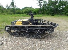 Definitely the fastest vehicle in the world – it is the Ripsaw