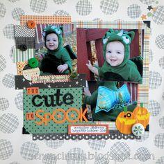 Too Cute to Spook *Elle's Studio* - Two Peas in a Bucket