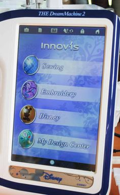 From the home screen on THE Dream Machine 2 you can access any of the screens to controller the many functions of the machine. Sewing Machines Best, Brother Sewing Machines, Sewing Machine Parts, Machine Embroidery Projects, Machine Applique, Embroidery Ideas, Embroidery Machines, Brother Dream Machine, Sewing Stitches