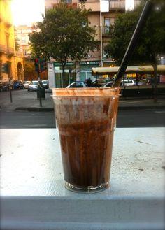 The Original Nutella Milkshake made in Catania, Sicily