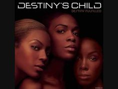 I've been revisiting Destiny's Child's DESTINY FULFILLED album lately (it's early 2000s perfection), and I must say, we need some more girl-love songs like this now.