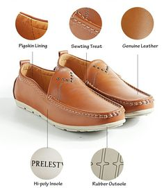 US $24.98 <Click to buy> Prelesty Classic Design Delicate Luxury Brand Men Loafers Soft Moccasins Mens Casual Flats High Quality Driving Boat Shoes