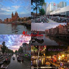 Amsterdam Gezi Notları Nerede, ne yapılır, ne alınır...