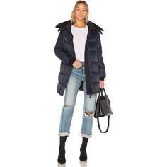 Canada Goose Altona Parka (1 410 AUD) ❤ liked on Polyvore featuring outerwear, coats, coats & jackets, parka coat, fur parka coat, fur coat, canada goose parka and canada goose