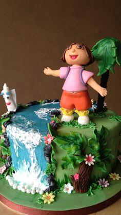 Dora l'Exploratrice | Wisha's Cakes