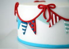 Cake it Pretty: A Trio of DIY Nautical Cakes Using Sugar Paste Fondant by Bird's Party