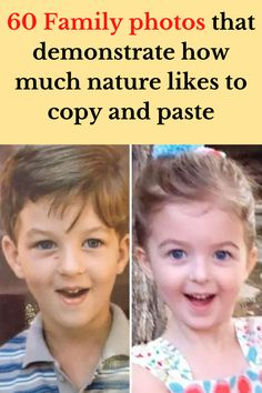 By nature, children should look something like their parents. In some cases, you have to really squint to see a resemblance. In others, children look so similar to their parents that it's almost as if they're literal mini-me clones.