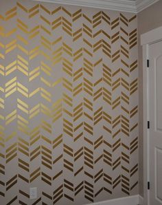 Cheap decorative vinyl wall stickers, Buy Quality sticker window directly from China sticker grass Suppliers: 41pcs/set Free shipping wallpaper wall decals Gold Herringbone Pattern Wall Art Sticker Modern Home Decor