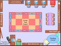 classroom seating arrangements templates