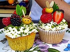 How Bake Off winner Frances Quinn makes these bees out of marzipan via Camilla Fab Food 4 All