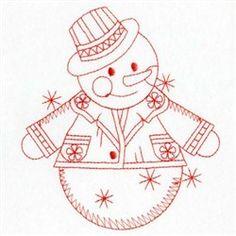 Redwork 075 embroidery design