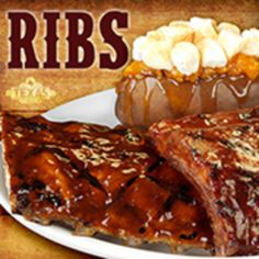 Texas Roadhouse ribs are the best ribs I have ever eaten! Was a great birthday dinner!#MomLovesRoadhouse