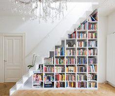 book shelf of my dreams..