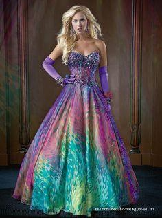 Mac Duggal Dress 5512B  The o&39jays The rainbow and Rainbow dresses