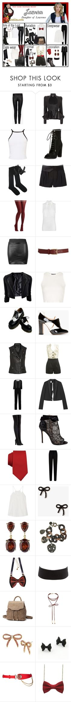 """Lauren. Daughter of Lawrence (Princess and The Frog)"" by elmoakepoke ❤ liked on Polyvore featuring Alexander McQueen, Miss Selfridge, Kendall + Kylie, DKNY, tabbisocks, MICHAEL Michael Kors, Barneys New York, Topshop, Dr. Martens and Valentino"