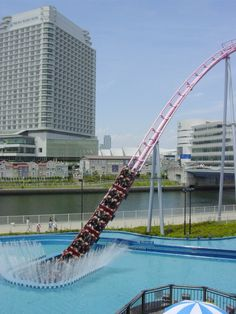 MUST  GO!Diving Coaster: Vanish (Yokohama Cosmoworld)