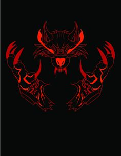 Fenrir graphic by Colin Skees Hacker Wallpaper, Black Phone Wallpaper, Wolf Images, Wolf Pictures, Gaming Wallpapers, Animes Wallpapers, Game Logo Design, Nordic Tattoo, Wolf Love
