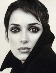 Winona Ryder / pixie / smokey eye