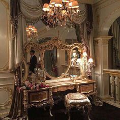 50 Luxury Interior Design Ideas For Your Dream House Classy Aesthetic, Aesthetic Vintage, Princess Aesthetic, Beautiful Architecture, Baroque Architecture, Renaissance Architecture, My New Room, Bedroom Decor, House Design