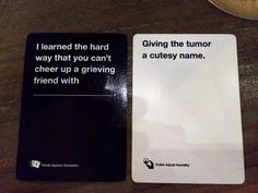 """Hilarious """"Cards Against Humanity"""" Answers"""
