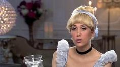 verrry funny skit on SNL with Kristen Wiig and Lindsey Lohan , Housewives of Disney (6 princesses)