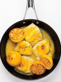 Recette de Ricardo de poisson glacé à la moutarde Fish Recipes, Seafood Recipes, Paleo Recipes, Nordic Recipe, Confort Food, Ricardo Recipe, Fish Dishes, Main Dishes, Vegetarian