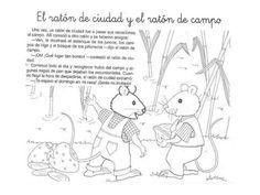 El ratón de ciudad y el ratón de campo