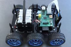 DiddyBorg: the Mini 6 Wheeled Raspberry Pi Robot! : 31 Steps (with Pictures) - Instructables Diy Toys Car, Raspberry Pi, Robot Kits, Cool Robots, Pi Projects, Electronics Projects, Home Automation, Arduino, Mini