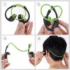 a9be702be2a MPOW Cheetah Sports Bluetooth Earphone with Mic Bluetooth Earphone Earbuds  sweat resistant with mic running products
